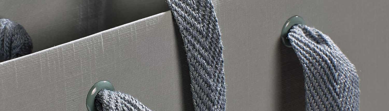 Metallösen für Tragebänder